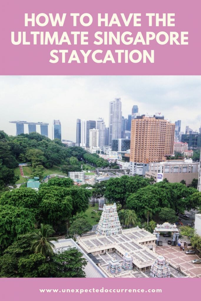 Singapore Staycation Guide: Everything you need to know to have the BEST staycation in Singapore   Where to eat, what to do, and everything in between!   #singapore #asia #staycation